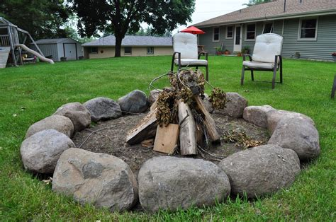 firepit rocks carri us home field pit