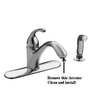 how to repair a kohler kitchen faucet kohler kitchen faucets repair