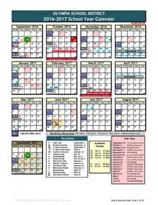 Davis County School District Calendar 2016 2017 Calendar District Calendar Template 2016