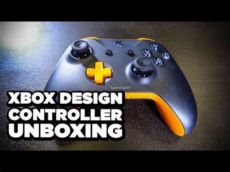 design lab xbox uk xbox design lab custom controller unboxing codejunkies