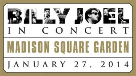 Ticketmaster Square Garden by Billy Joel Schedules Return To Nyc S Square Garden