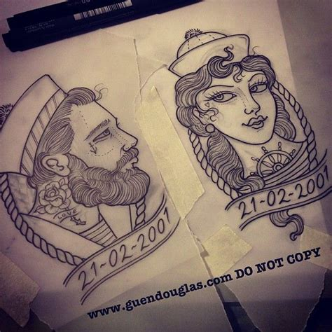 pretty couple tattoos 94 best neo traditional designs and inspiration