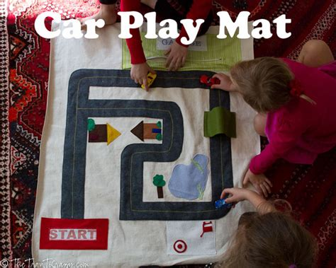 Boys Play Mat by Sewing For Boys Series Andrea S Notebook