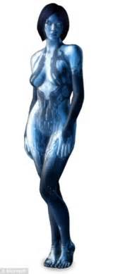 cortana you are thick video shows a home made cortana from halo daily mail online