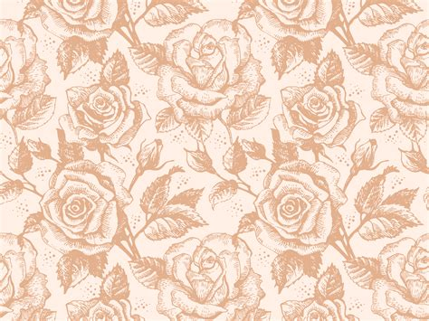 rose gold pattern wallpaper rose gold flower background life style by modernstork com
