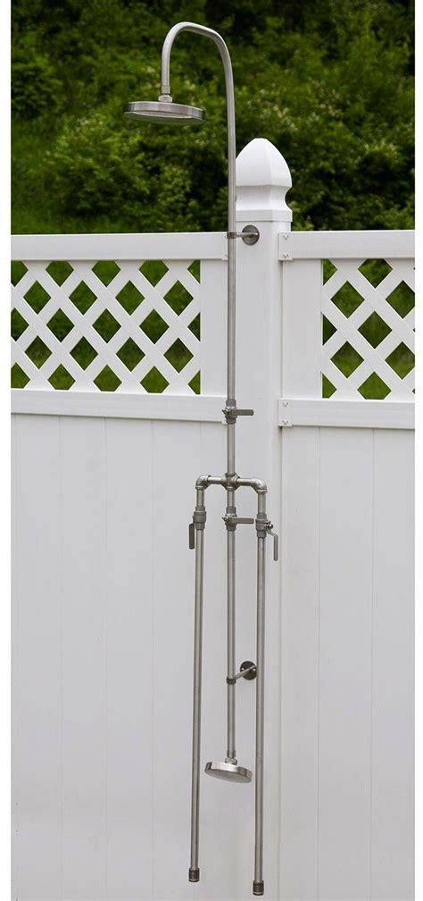 outdoor shower fixtures 25 best ideas about outdoor shower fixtures on