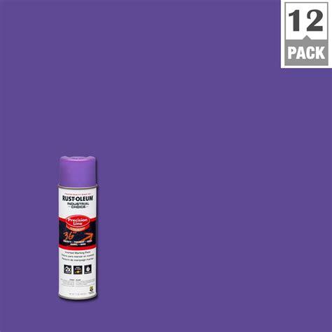 Sprei Purple rust oleum industrial choice 17 oz florescent purple inverted marking spray paint 12 pack