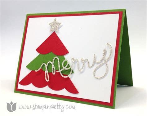 simple merry ideas merry simple card stin pretty
