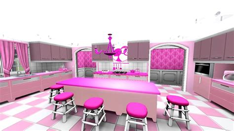 barbie house video barbie meet the dream house the sims 3 youtube
