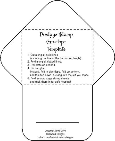 create envelope template mirkwood designs postage st envelope template