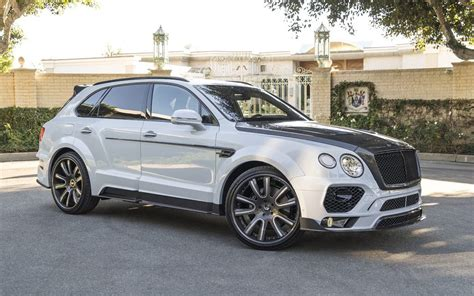 bentley bentayga mansory does its thing on the bentley bentayga