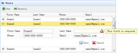 tutorial jquery easyui application of crud jquery easyui applications create a
