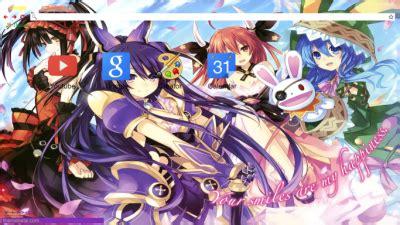 theme google chrome anime date a live date a live chrome themes themebeta