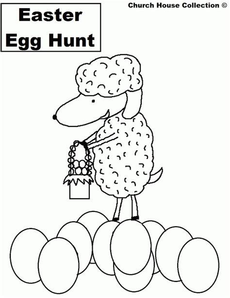 coloring pages easter egg hunt easter egg hunt coloring pages coloring home