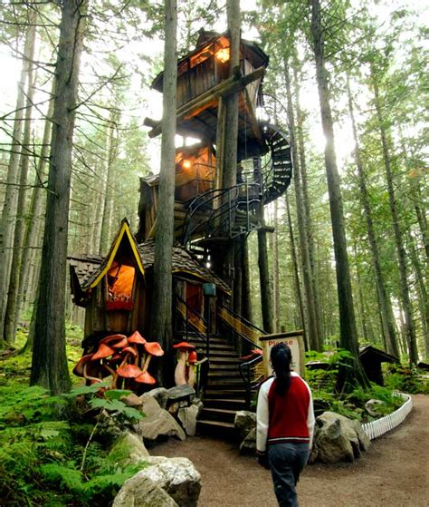 real life treehouse enchanted forest treehouse would you live here off
