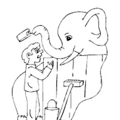 coloring page of a zookeeper coloring pictures zoo keeper coloring pages