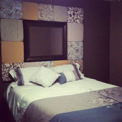 homemade headboards ideas my homemade headboard diy pinterest master