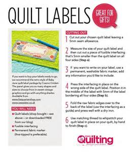 free quilt labels printable quilting