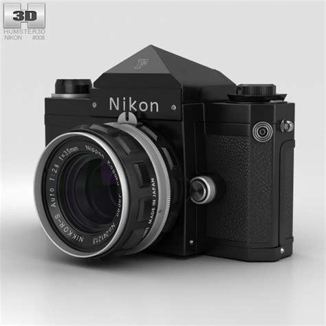 nikon model nikon f black 3d model hum3d