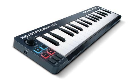 M Audio Keystation by M Audio Updated Keystation Keyboard Series Introduced At