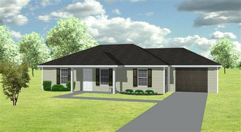 Simple 3 Bedroom House Plans Without Garage House 3 Rooms