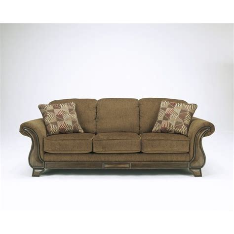 ashley fabric sofa signature design by ashley furniture montgomery fabric