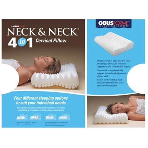 Buy Cervical Pillow by Buy Obus Forme 4 In 1 Neck Neck Cervical Pillow At Well