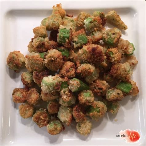 the goddess of fried okra series 1 fried okra with bread crumbs
