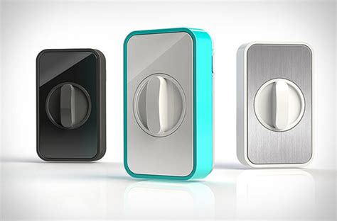 Iphone Door Lock by Lockitron Gadgetking