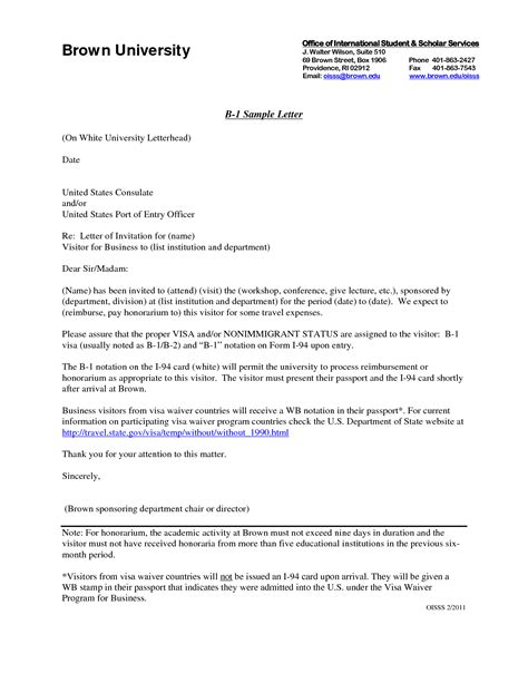 Invitation Letter To Australia sle invitation letter to visit australia images