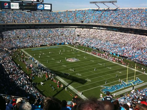 carolina panthers as to a home town team as we