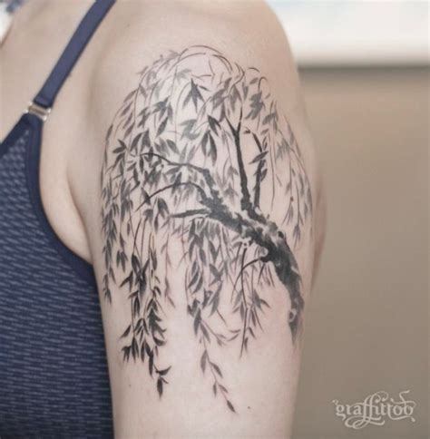 small willow tree tattoo willow tree willow tree tattoos willow tree and