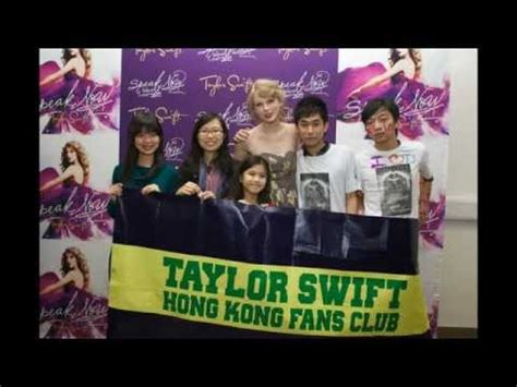 taylor swift fan club fansite with photos videos and more taylor swift hk fan club we met taylor youtube