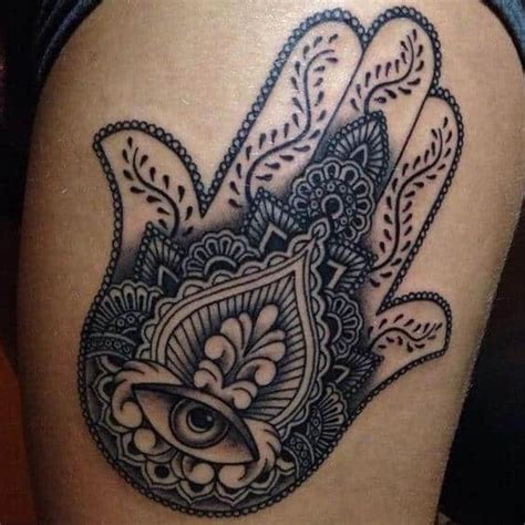 eye tattoo on palm meaning hamsa tattoos for men ideas and designs for guys