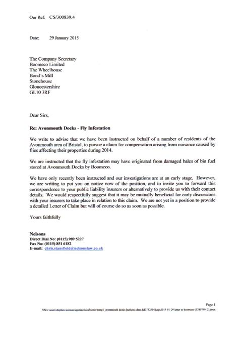 Letter Of Intent For Food Business Boomeco Letter Of Intent By Bristol News Issuu