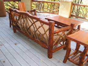 rustic patio furniture rustic outdoor furniture handmade by appalachian designs