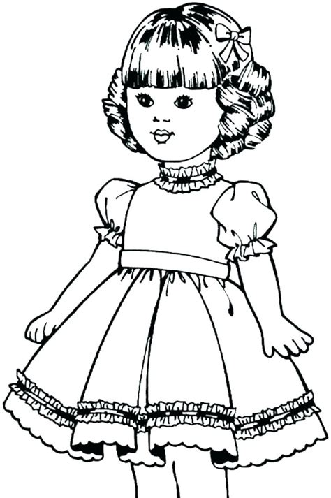 doll coloring pages american coloring pages best coloring pages for