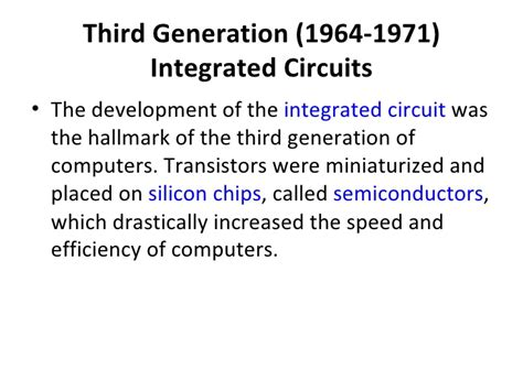 integrated circuits are classified according to the third generation 1964 1971 integrated circuits 28 images microprocessor systems generations