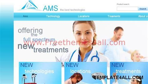 templates for medical website free download health medical blue website template free download