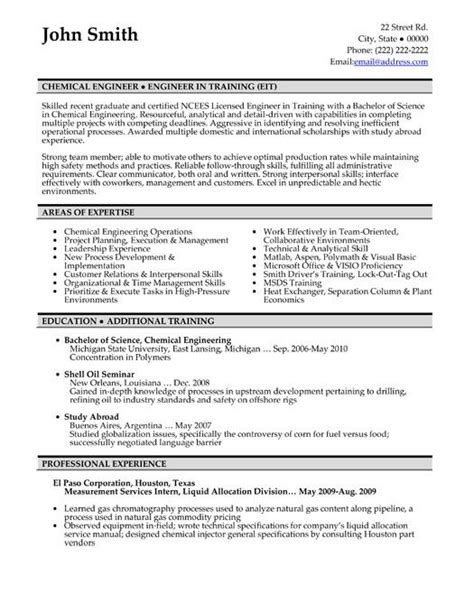 click here to this chemical engineer resume
