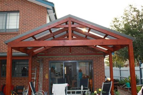 Pitched Porch Roof Design Decks Construction And Pools On