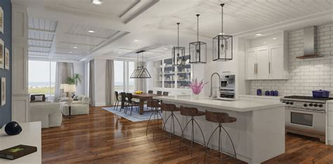 Open Concept Floor Plans Generating Exceptional Conversion Open Floor Plan Kitchen And Den