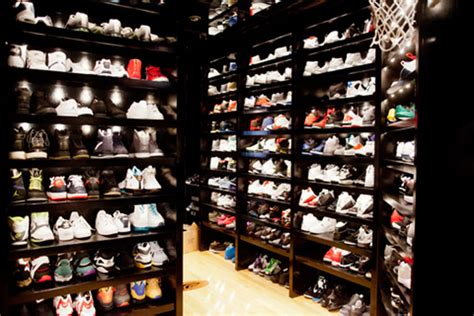 mayweather shoe collection joe johnson s sneaker closet sneakernews com