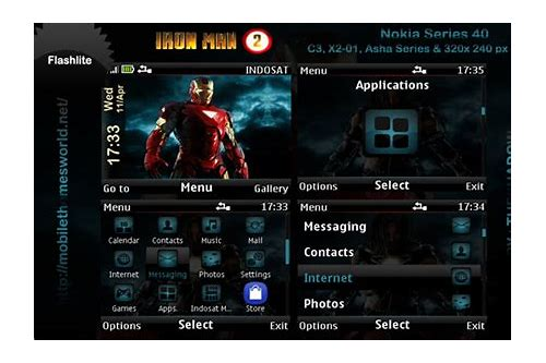 download tema spiderman nokia
