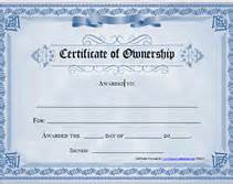Certification Letter Of Ownership Blank Certificate Pdf Files Search Results Calendar 2015