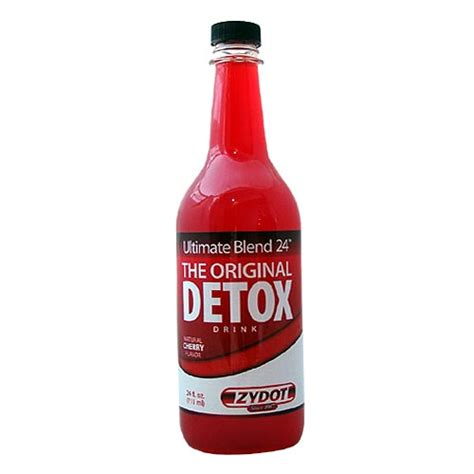 Zydot Ultimate Blend Detox Drink by Ultimate Blend 24 Plus Cherry Flavor By Zydot