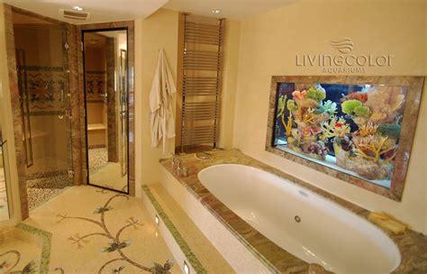 aquarium bathroom give an endless charm to your home with an aquarium