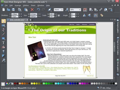 video tutorial xara web designer xara outsider april 2012 a beginner s guide to web