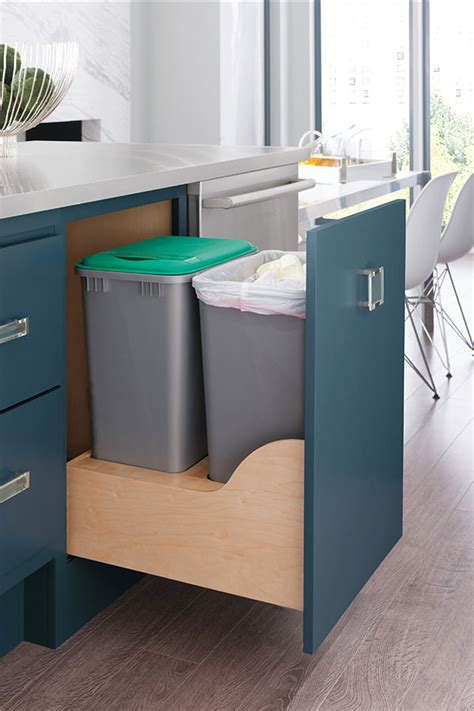 Recycling Cabinets Kitchen Kitchen Recycle Center Decora Cabinetry