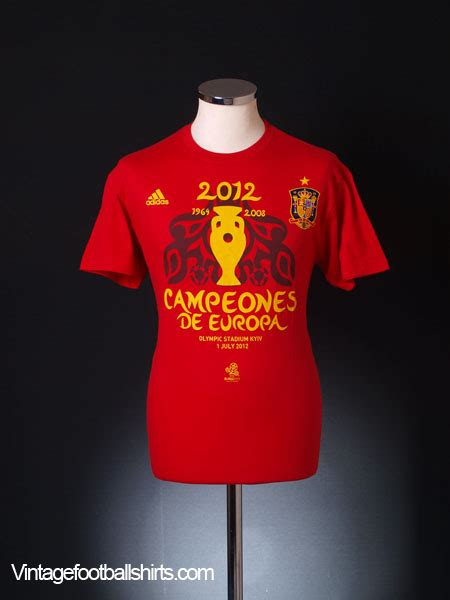 T Shirt S A S Alba Match Item Name 2012 spain ceones de europa t shirt bnib for sale